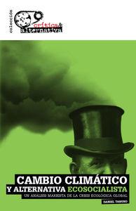 Cambio Climático y Alternativa Ecosocialista: portada