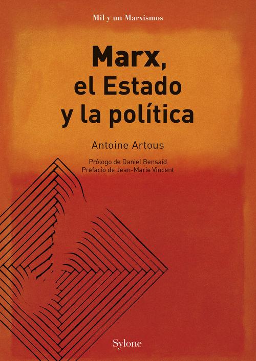 Marx, el estado y la política: portada