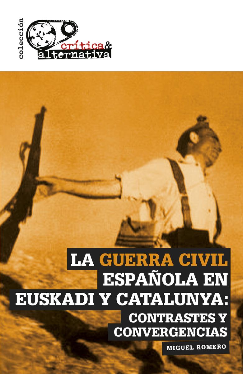 La Guerra Civil española en Euskadi y Catalunya: portada