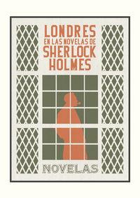 Londres en las novelas de Sherlock Holmes: portada