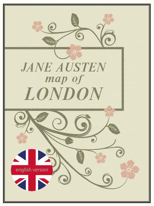 Jane Austen Map of London: portada