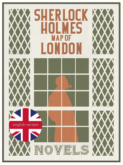 Sherlock Holmes Map of London: portada
