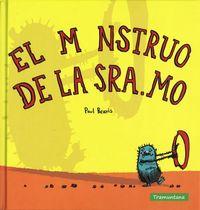 EL MONSTRUO DE LA SRA. MO: portada