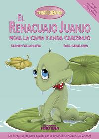 El renacuajo Juanjo moja la cama y anda cabizbajo: portada