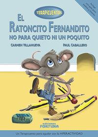 El ratoncito Fernandito no para quieto ni un poquito: portada