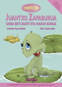 Juantxo zapaburua ohea beti busti eta makur burua: portada