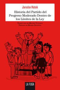Historia del Partido del Progreso Moderado Dentro de los Lím: portada