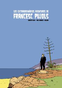 Les extraordinàries aventures de Francesc Pujols: portada