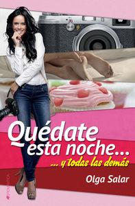 QUÉDATE ESTA NOCHE...: portada
