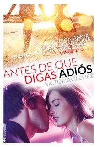 ANTES DE QUE DIGAS ADIÓS/DIME QUE BAILARÁS CONMIGO (Serie An: portada