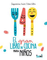 El gran libro de cocina para niños: portada