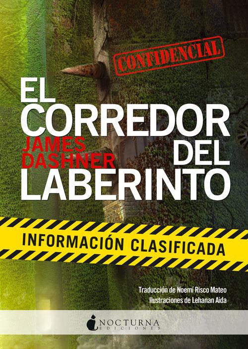 CORREDOR DEL LABERINTO: INFORMACION CLASIFICADA,EL: portada
