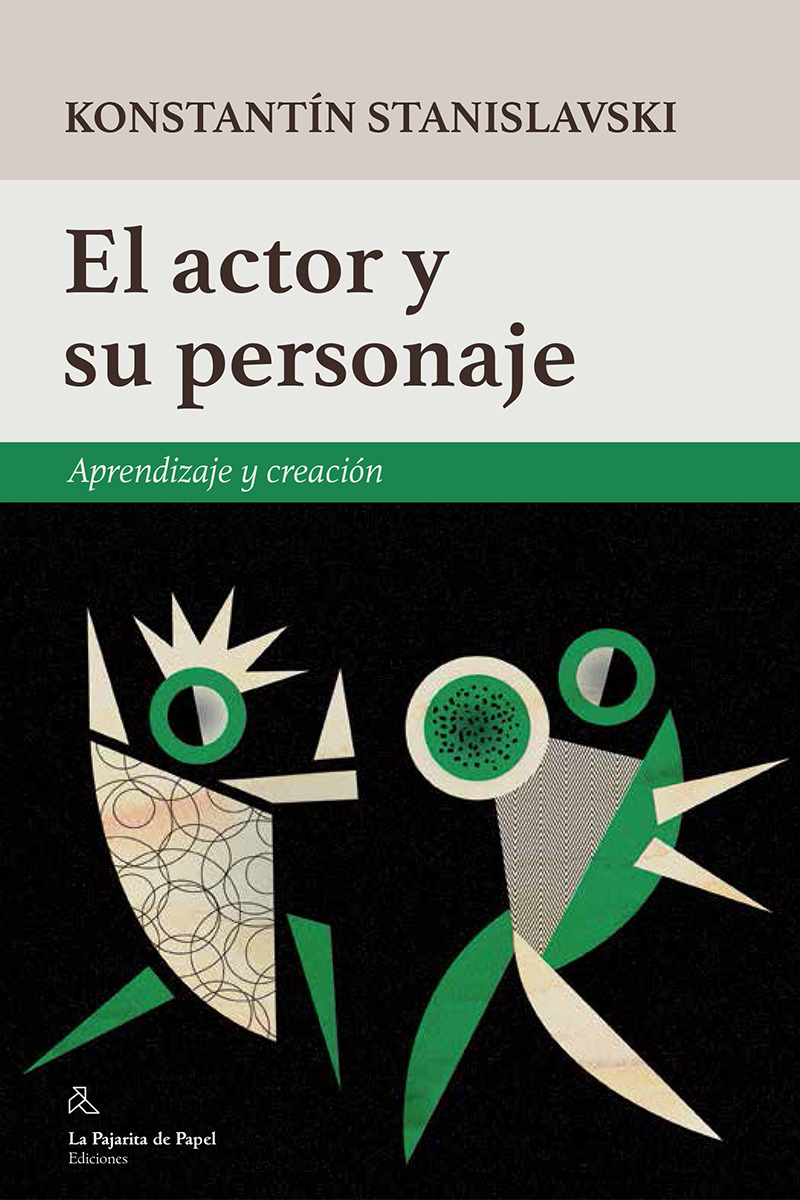 El actor y  su personaje: portada