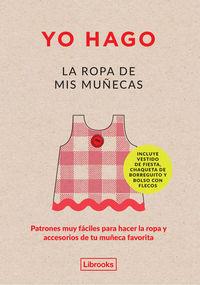 YO HAGO LA ROPA DE MIS MUÑECAS: portada