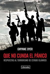 QUE NO CUNDA EL P�NICO: portada