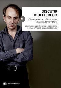 Discutir Houellebecq: portada