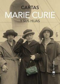 Marie Curie y sus hijas. Cartas: portada