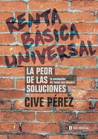 Renta Básica Universal: portada