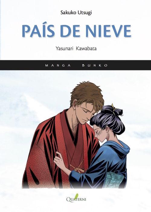 PAÍS DE NIEVE-Manga: portada