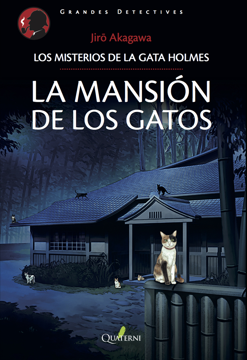 LA MANSIÓN DE LOS GATOS: portada