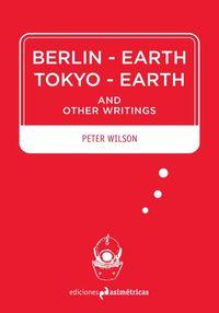 BERLIN-EARTH / TOKYO-EARTH: portada