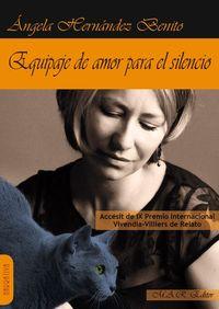 Equipaje de amor para el silencio.: portada