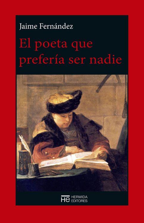 El poeta que prefería ser nadie: portada