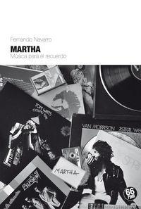 Martha: portada