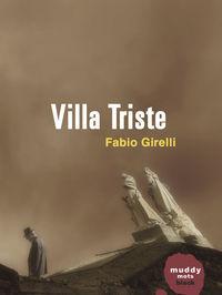 VILLA TRISTE: portada