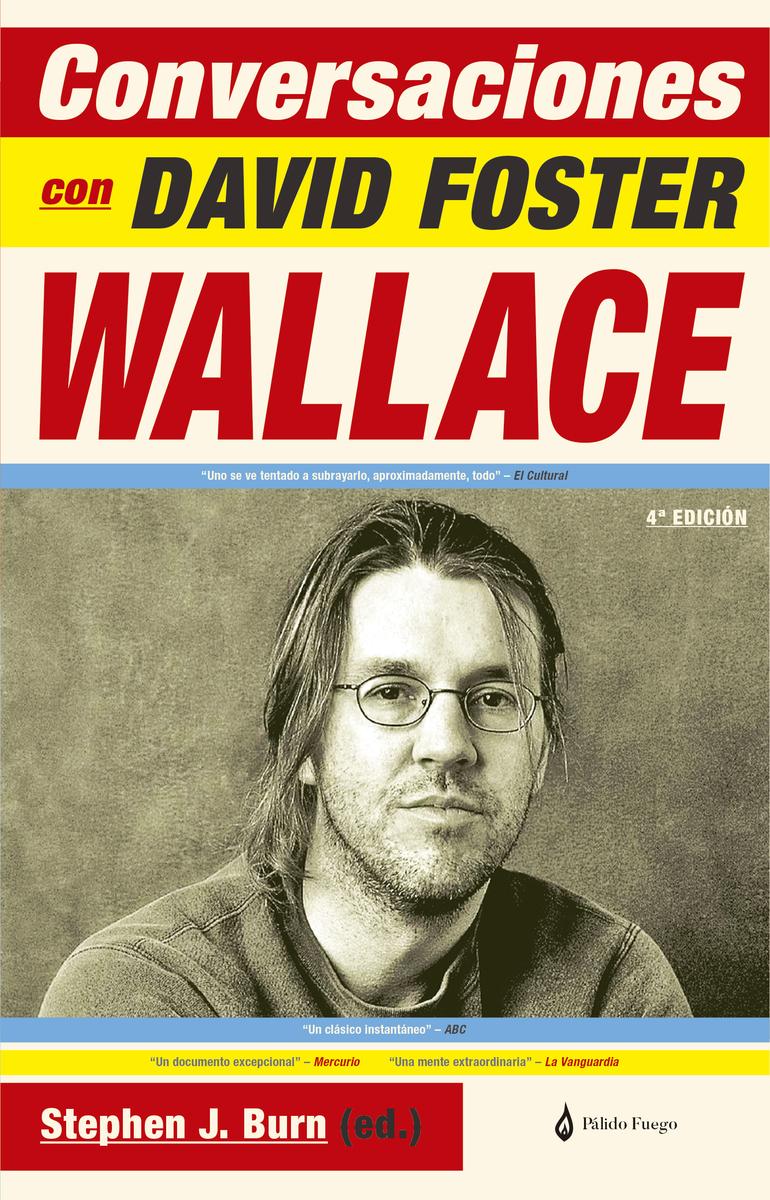 Conversaciones con David Foster Wallace: portada