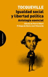 Igualdad social y libertad política: portada