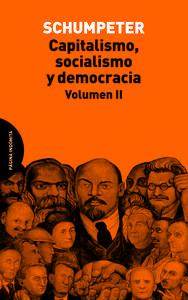 Capitalismo, socialismo y democracia. Volumen II: portada