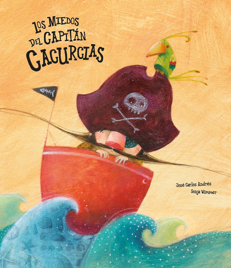 Los miedos del capitán Cacurcias: portada