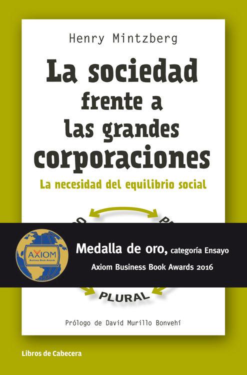 LA SOCIEDAD FRENTE A LAS GRANDES CORPORACIONES: portada