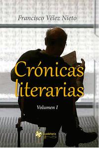 Crónicas literarias. Vol I: portada