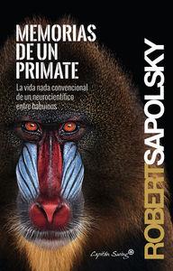 Memorias de un primate: portada