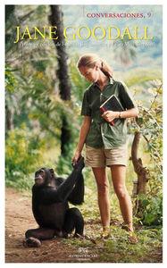 Conversaciones con Jane Goodall: portada