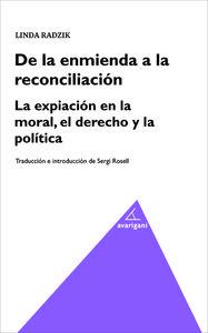 De la enmienda a la reconciliacion: portada