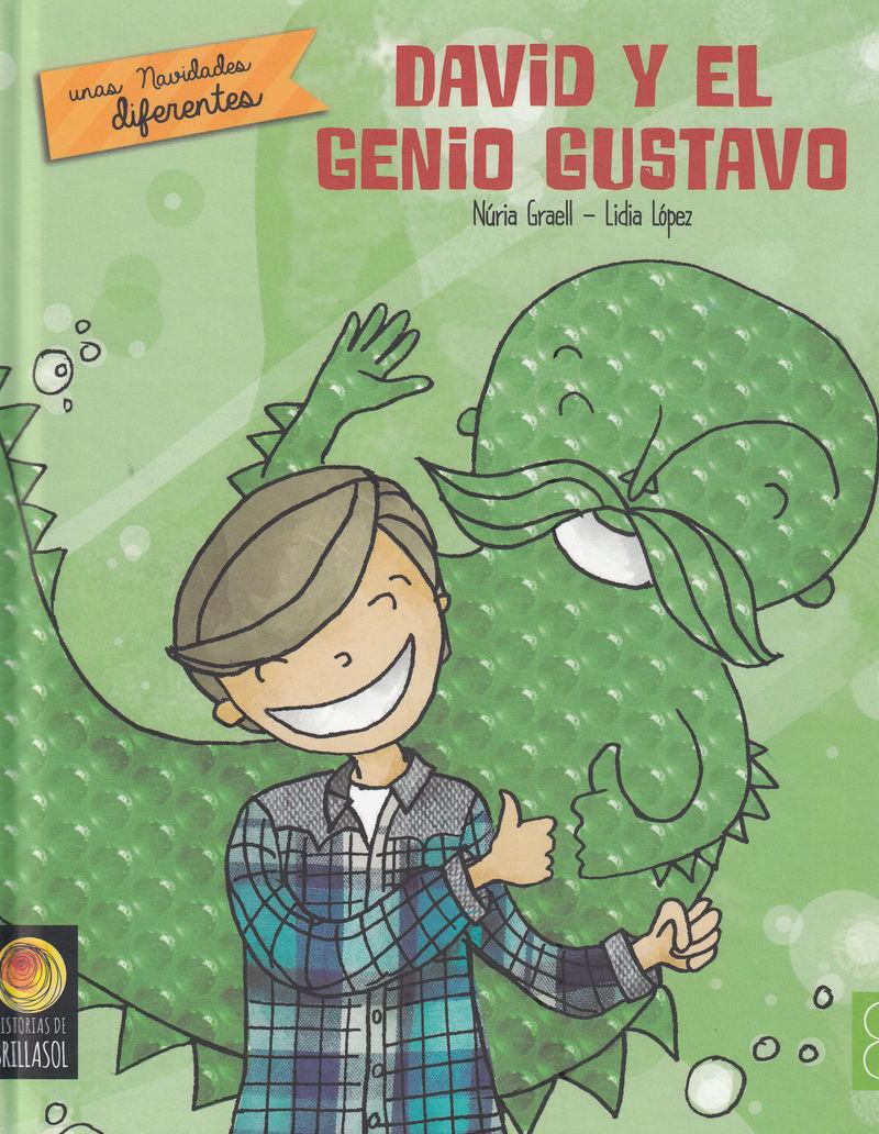 DAVID Y EL GENIO GUSTAVO: portada