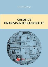 Casos de finanzas internacionales: portada