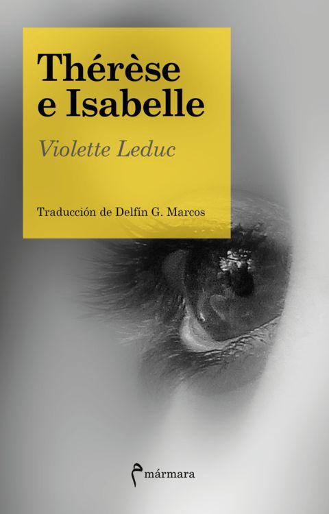 Thérèse e Isabelle: portada
