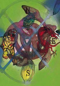 LIBRETA LOS PUNTOS CARDINALES: portada