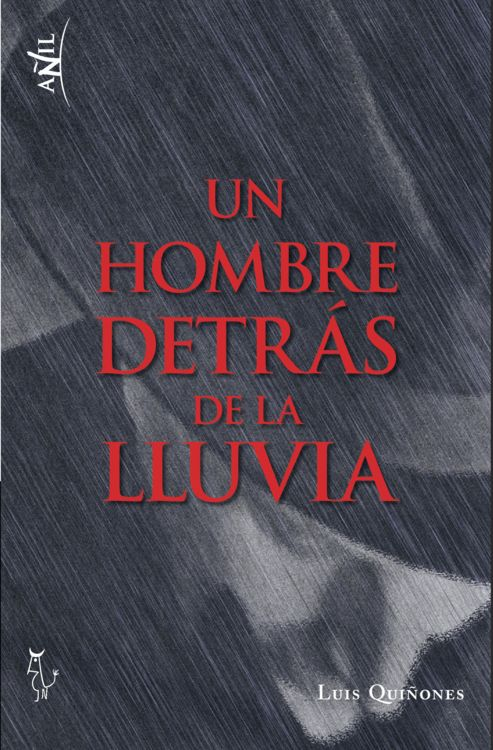 UN HOMBRE DETRAS DE LA LLUVIA: portada