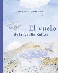 El vuelo de la familia Knitter: portada