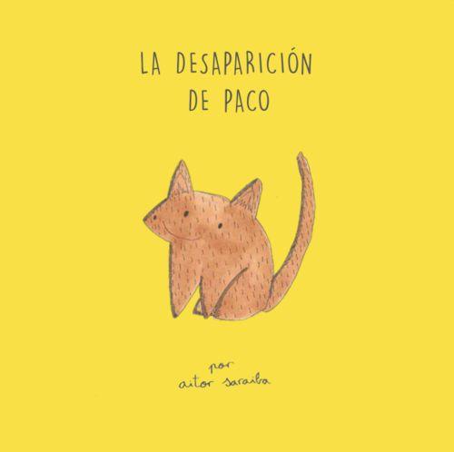 La desaparici�n de Paco: portada