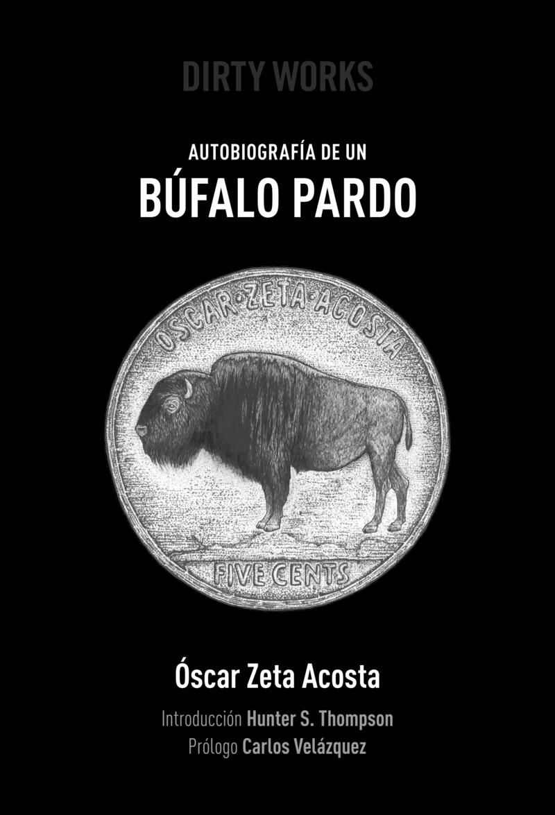 Autobiograf�a de un b�falo pardo: portada