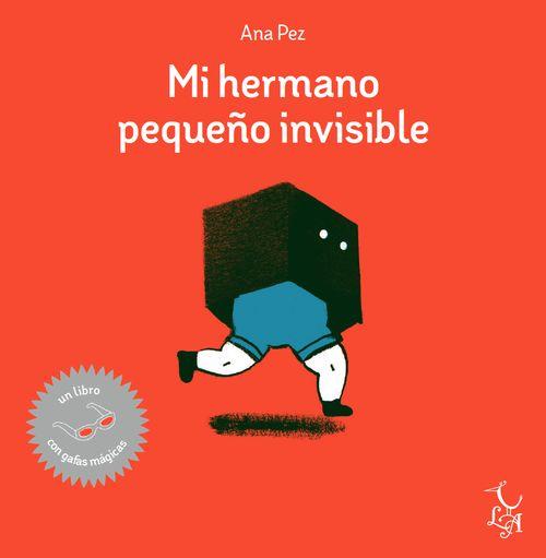Mi hermano pequeño invisible: portada