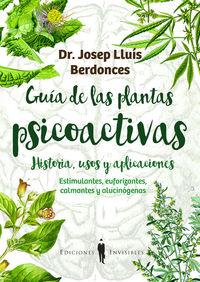 GUÍA DE LAS PLANTAS PSICOACTIVAS: portada