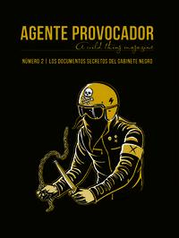 AGENTE PROVOCADOR (A WILD THING MAGAZINE) Nº2: portada