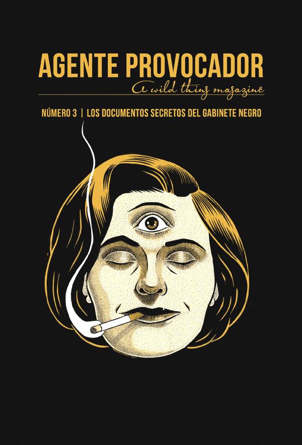 AGENTE PROVOCADOR (A WILD THING MAGAZINE) Nº3: portada